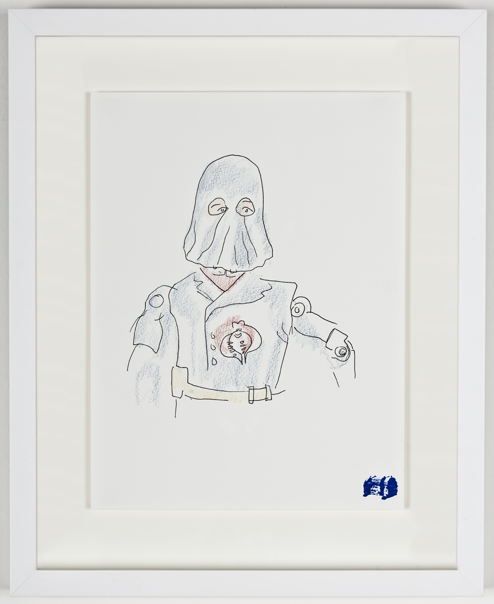 Blind Contour Drawing - Cobra Commander